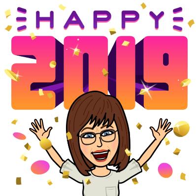 Bitmoji Happy 2019