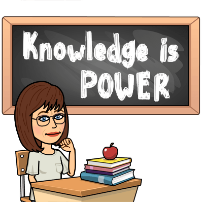Bitmoji Knowledge is Power