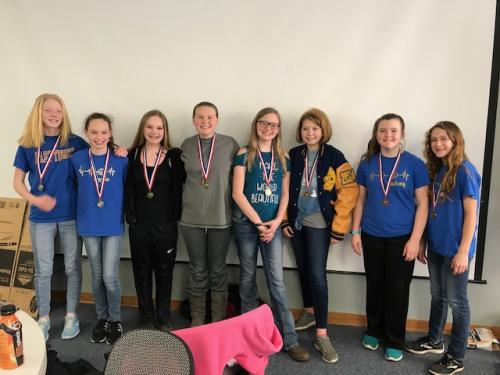 2019 7th Grade DMESC Reading Fair Winners!