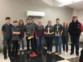 Academic Team Wins I-40 Conference