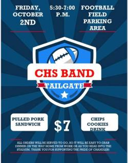 CHS Band Tailgate Oct 2