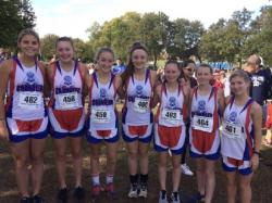 Girls XC Team Named Academic State Champs