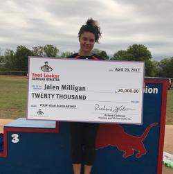 Jalen Milligan Named Foot Locker Scholar Athlete
