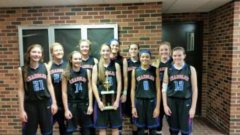 CHS Basketball Teams Places Third at OBU Tournament