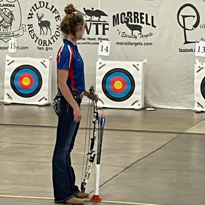 Brannon Wins Archery State Championship