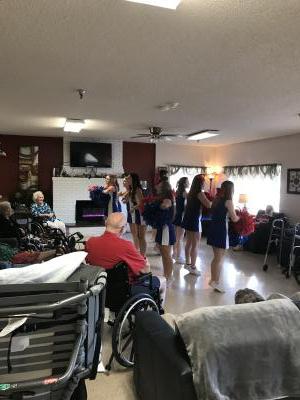 nursing home chs cheer