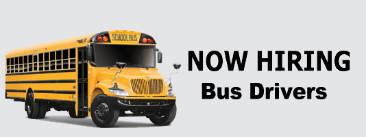 Bus image, now hiring drivers