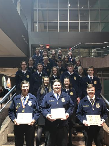 Chandler FFA at convention