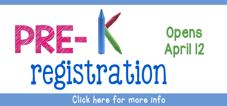 Pre K registration click here