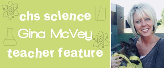 Teacher Feature: Gina McVey