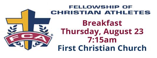 FCA Breakfast August 23