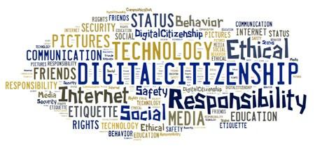 Digital Citizenship Word Cloud