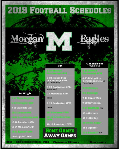Morgan ISD - Football