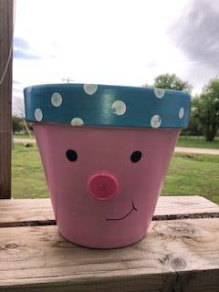 Paint a Piggy-Planter