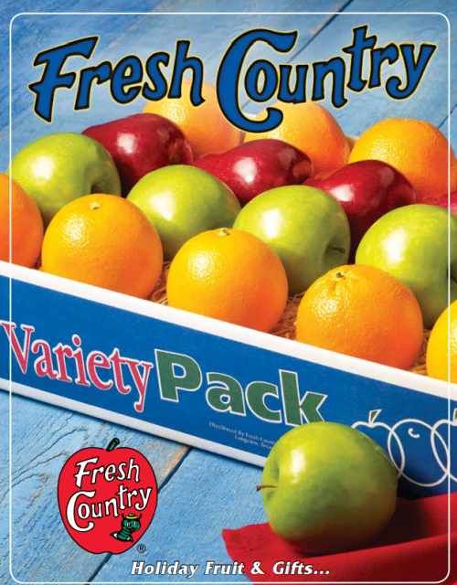 fresh country fruit and meat sale