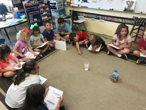 Science investigation: hopping corn
