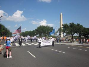 National Memorial Day Parade - ECP Band