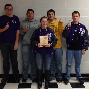 Froshmore Academic Team 2013-14
