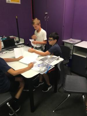STEM Lab 5thGrade –Can you make a single sheet of paper stand up without assistance?