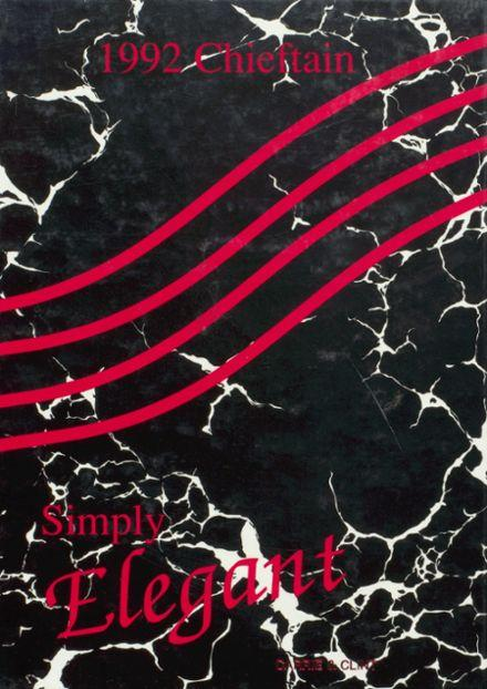 Simply Elegant-FHS Class of 92 yearbook