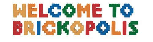 This image says Welcome to Brickopolis
