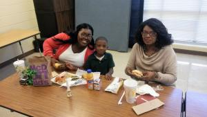Christmas Dinner with Kindergarten and 1st Grade