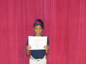 4th Grade Winner: Se'ara Broom