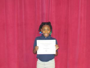 3rd Grade Winner: Calah Sloan