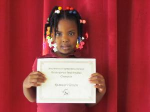 Kindergarten Winner: Kamauri Green