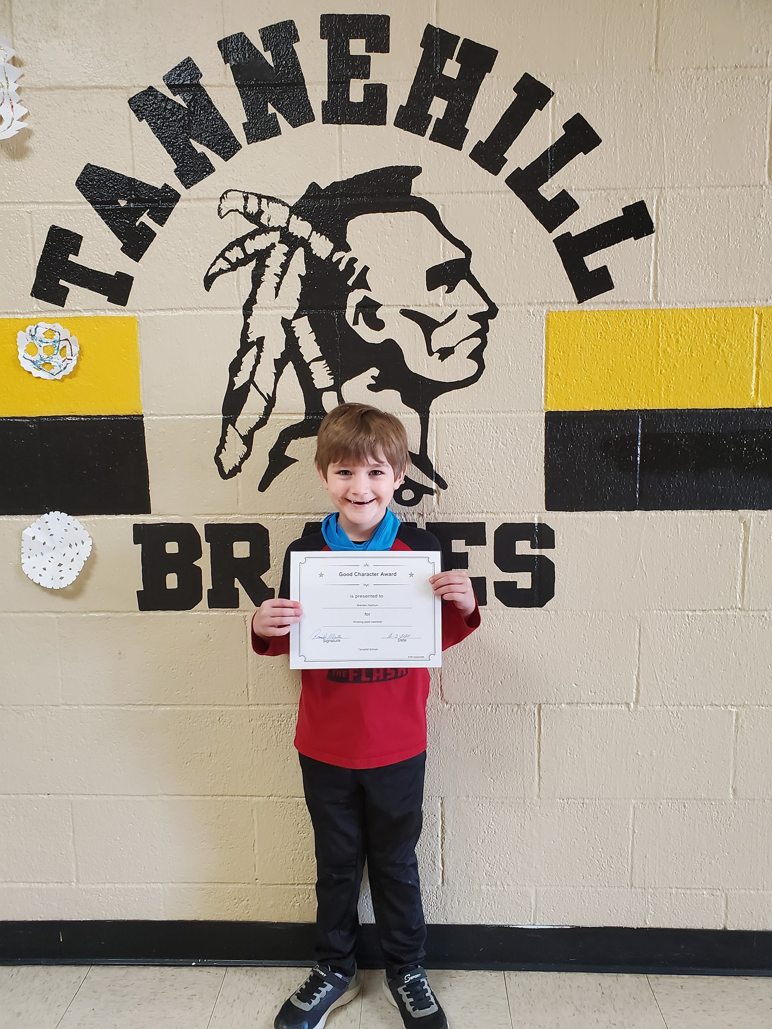 November Good Character of the Month: Brenden Ketchum