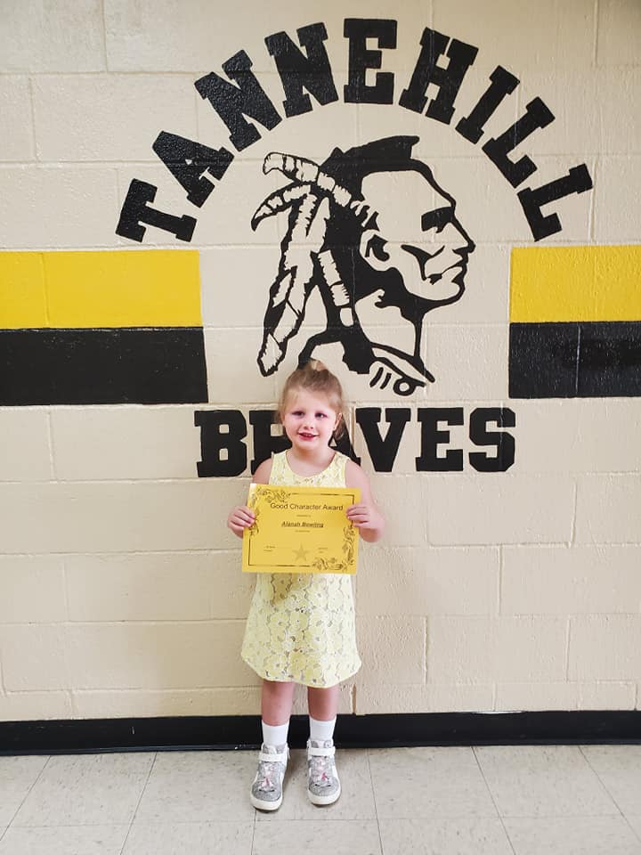 April Good Character of the Month: Alanah Bowling
