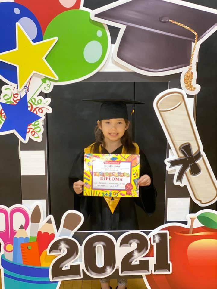 Kindergarten Graduate Royalty Liska