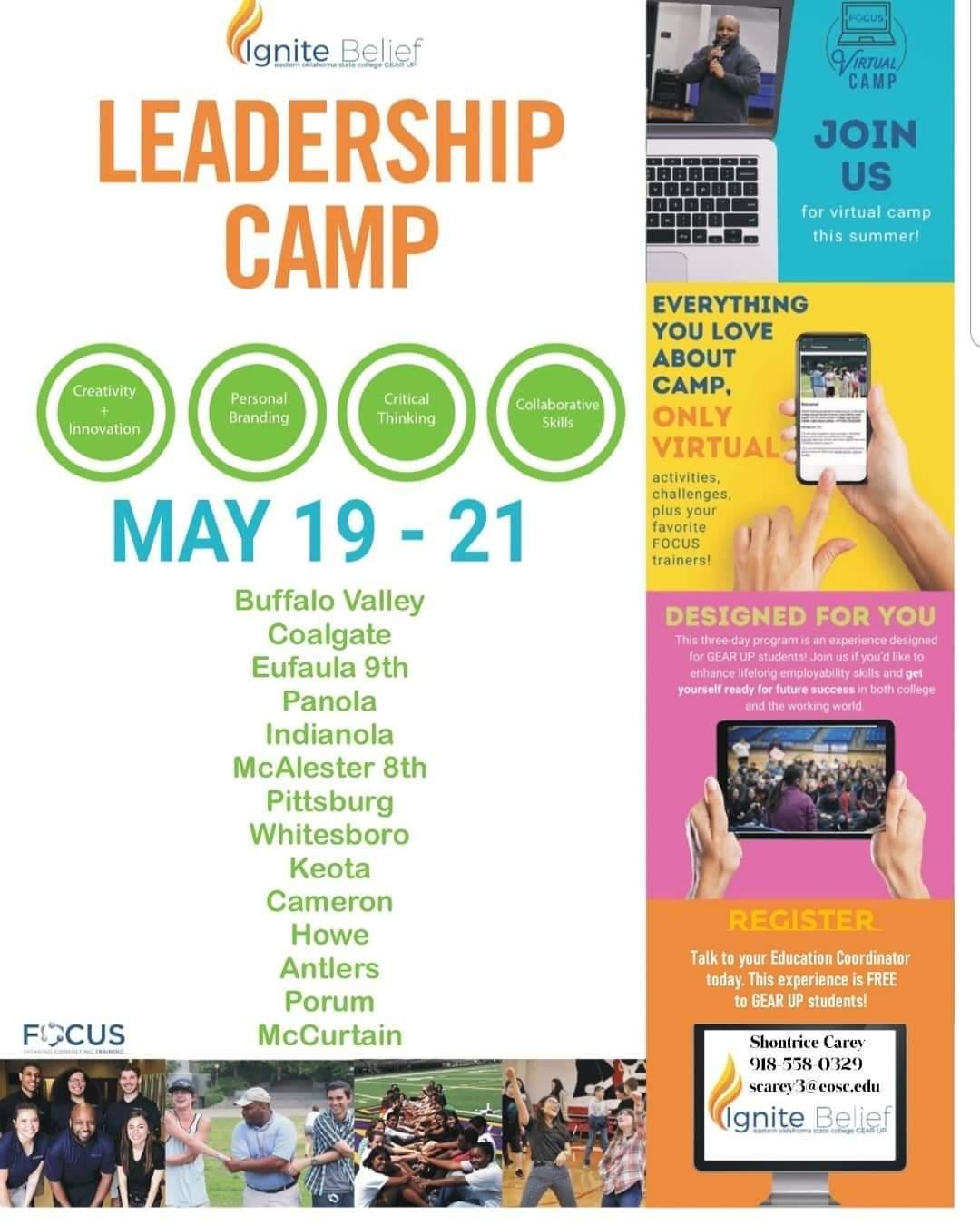 Gear Up Virtual Camp