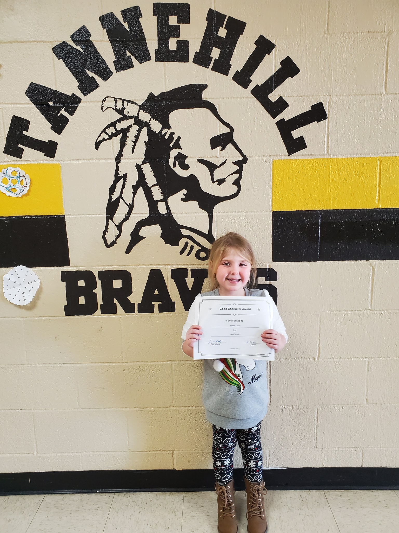 October Good Character of the Month: Hadleigh Lowery