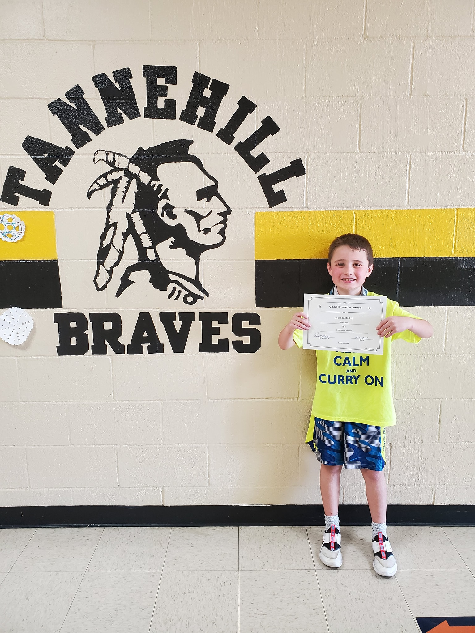 November Good Character of the Month: Cole Collins