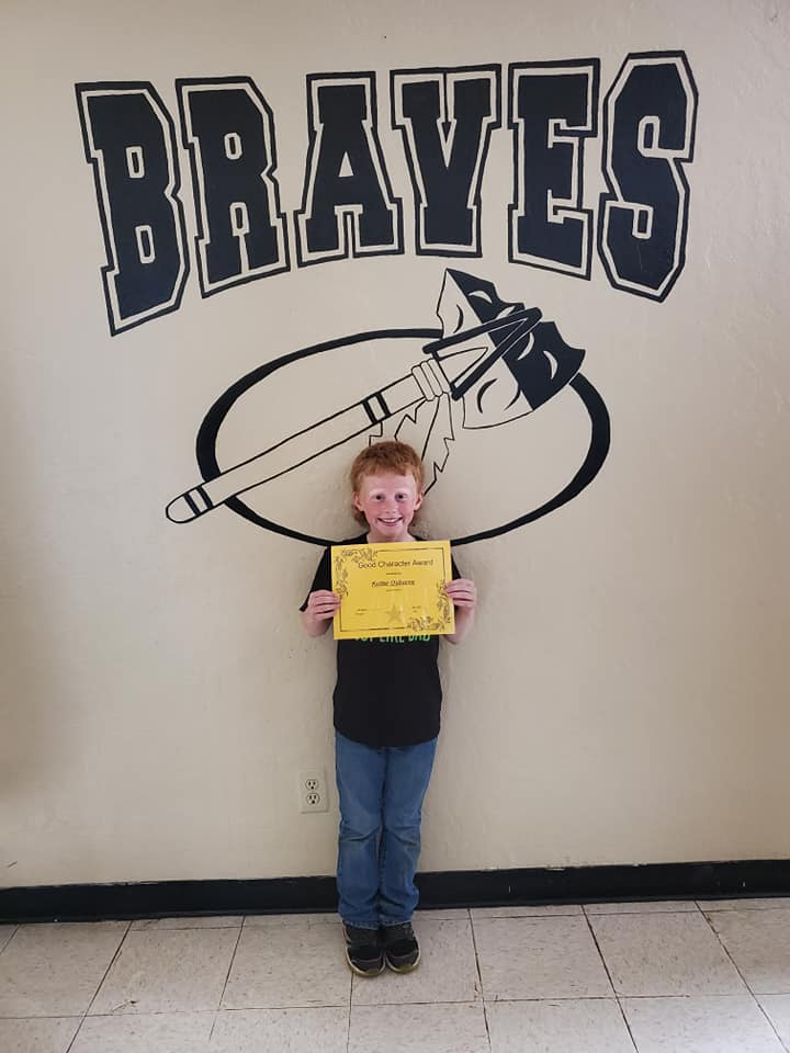 May Good Character of the Month: Kutter Osborne
