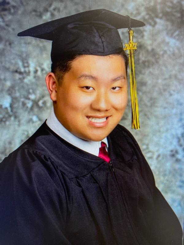 8th Grade Graduate Adam Lee