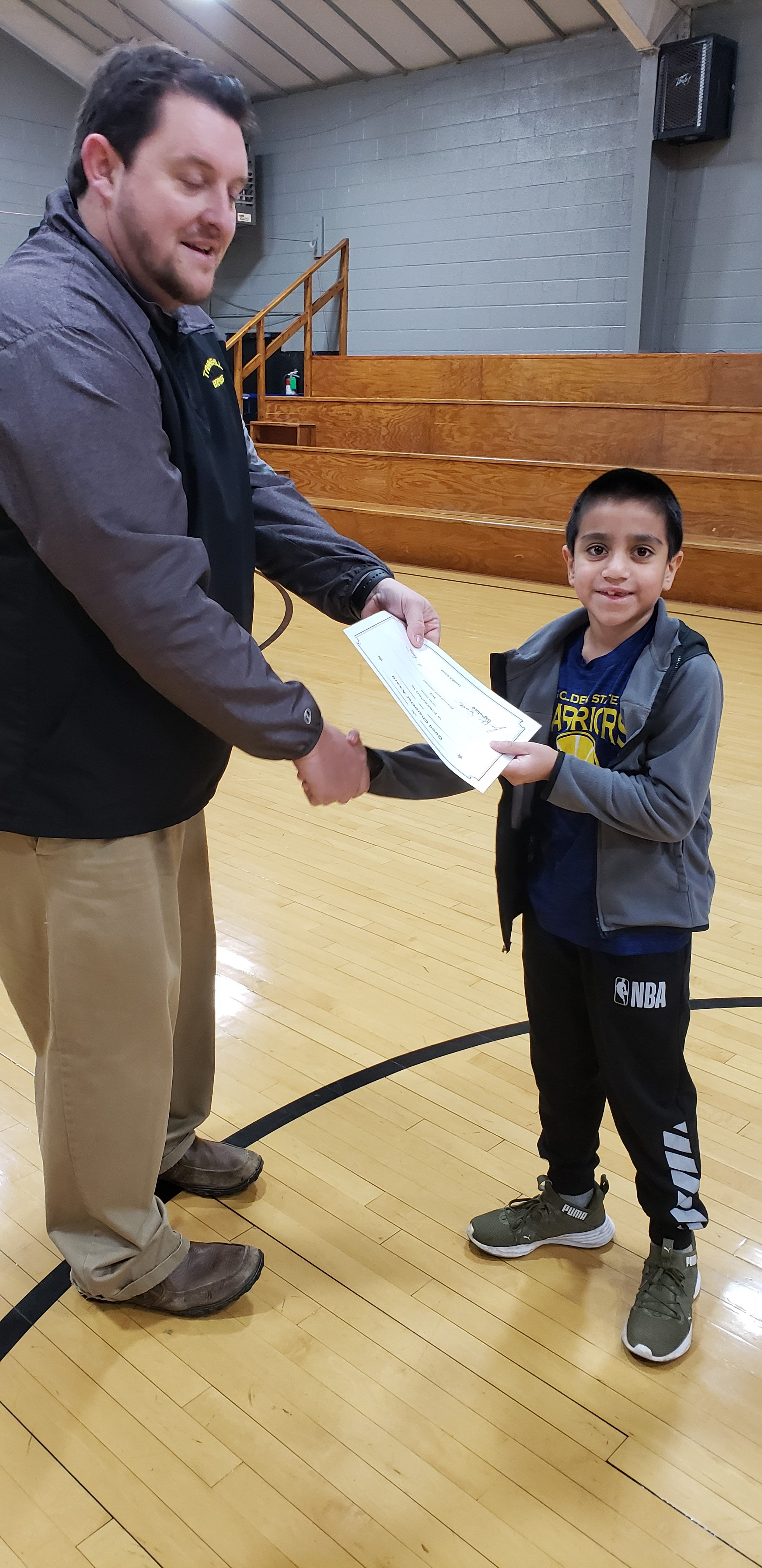 January Good Character of the Month: Adrian Garcia