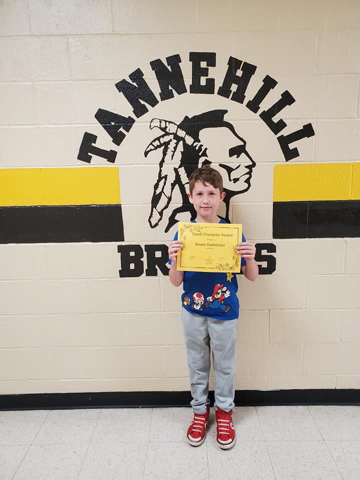 May Good Character of the Month: Kooper Featherston