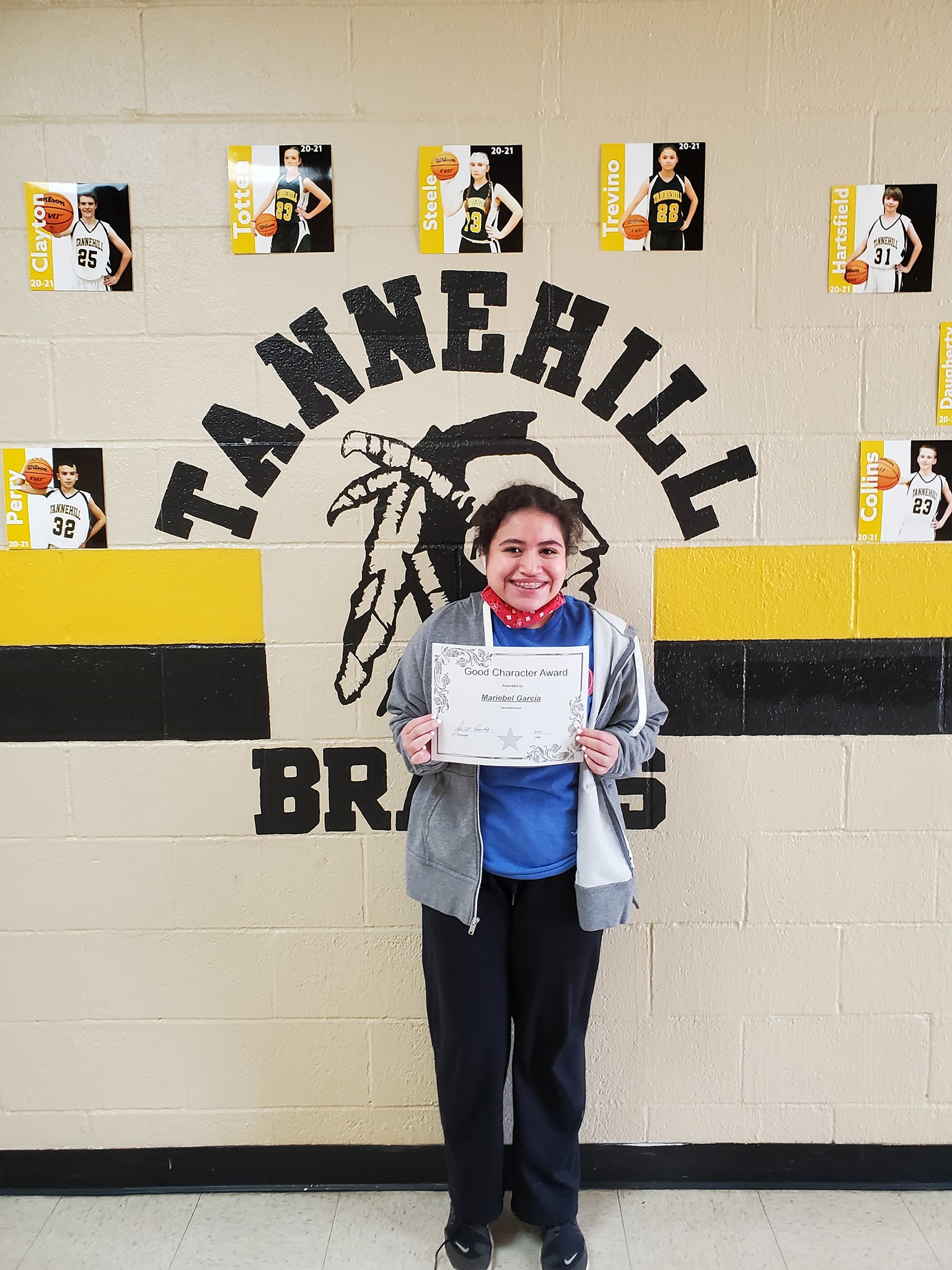 January Good Character of the Month: Mariebel Garcia