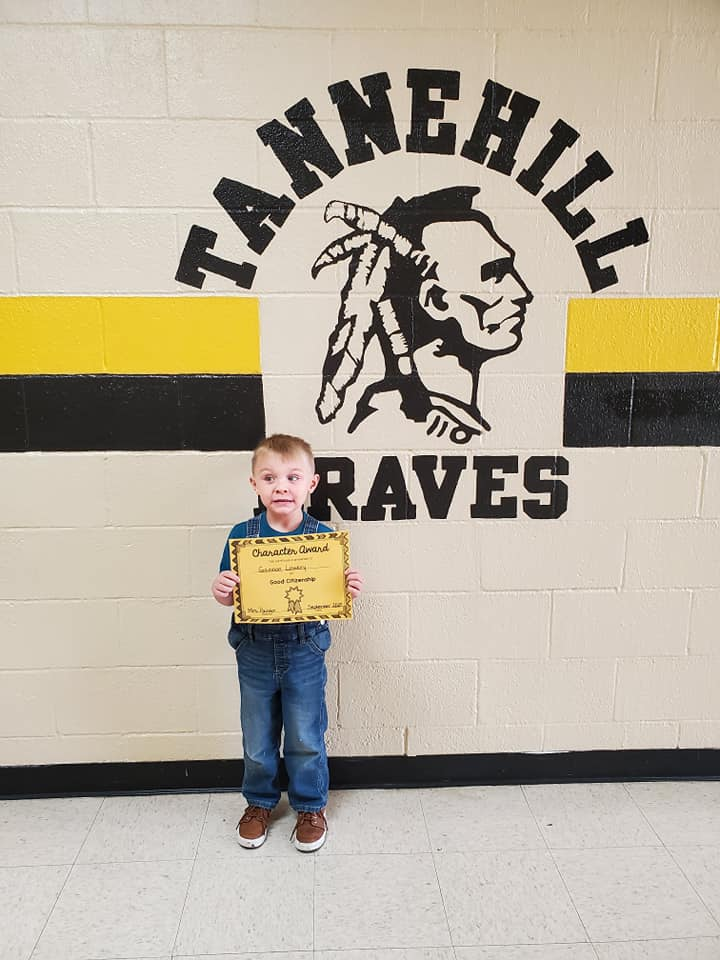 September Good Character of the Month:  Gannon Lowery
