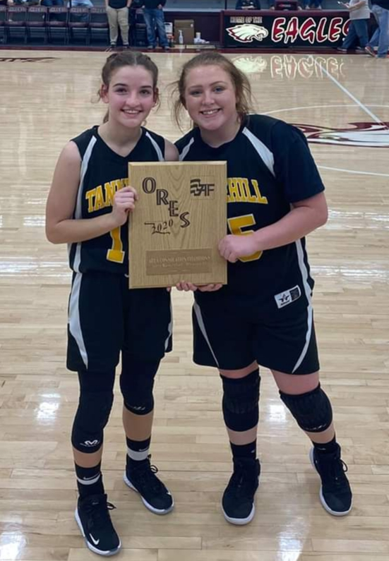 Congratulations to Emma Roberts & Kacelyn Osborne for making the ORES All-Tournament Team!!!