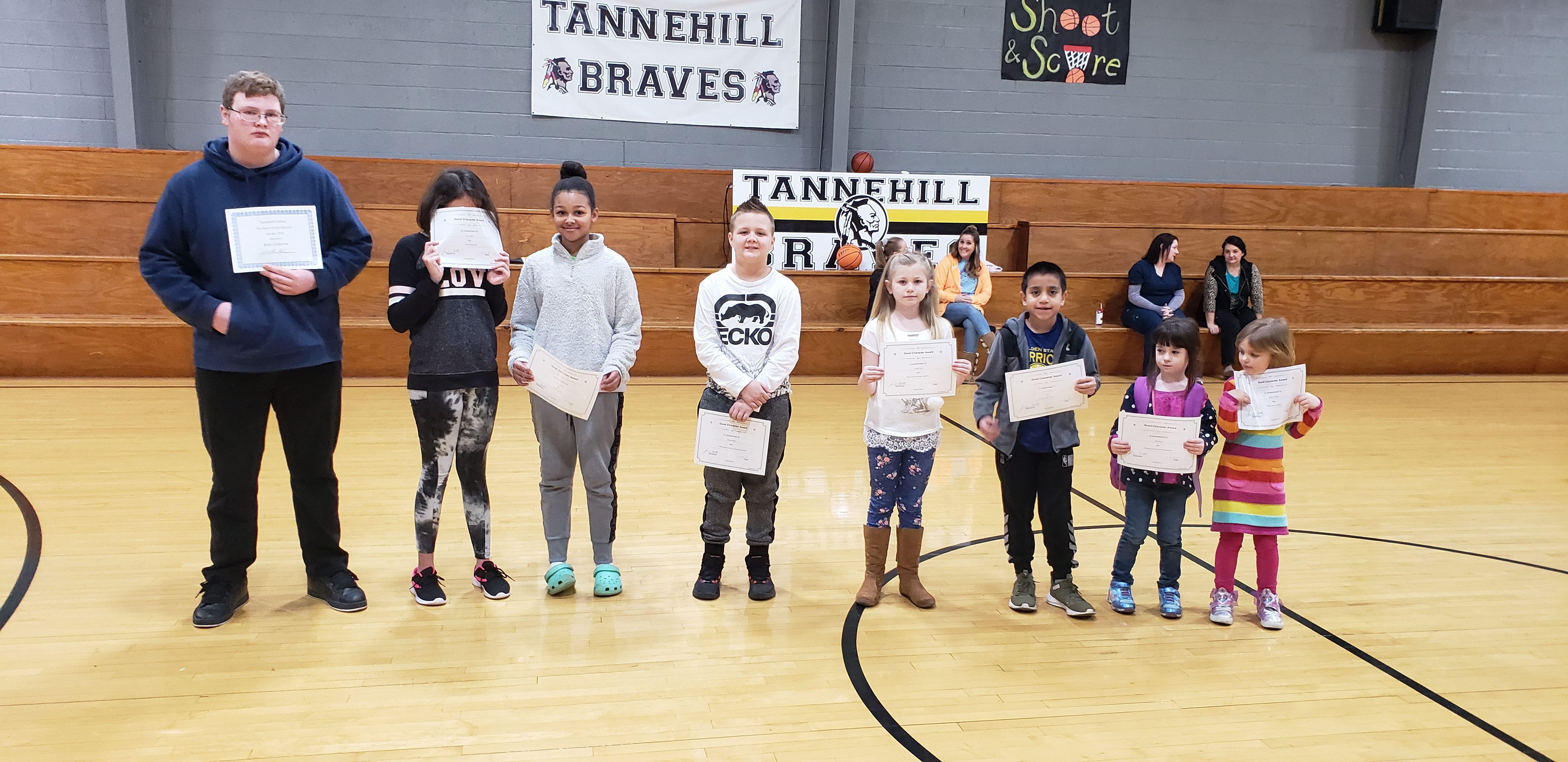 January Good Characters & Student of the Month
