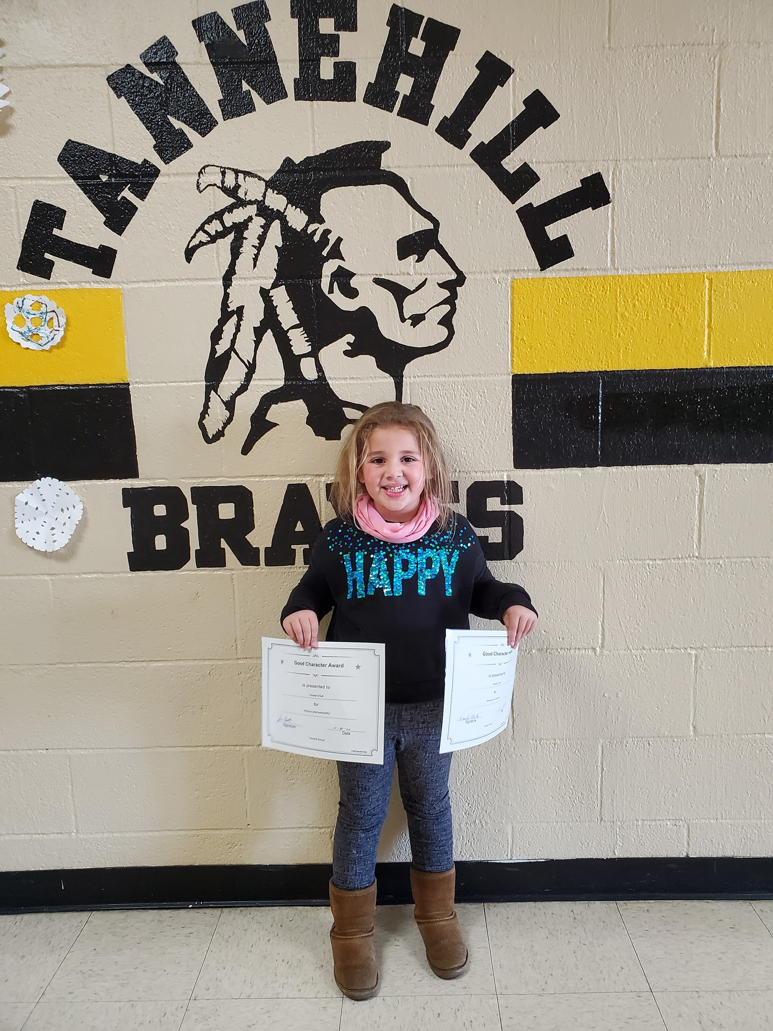 October Good Character of the Month: Kinslee O'Dell