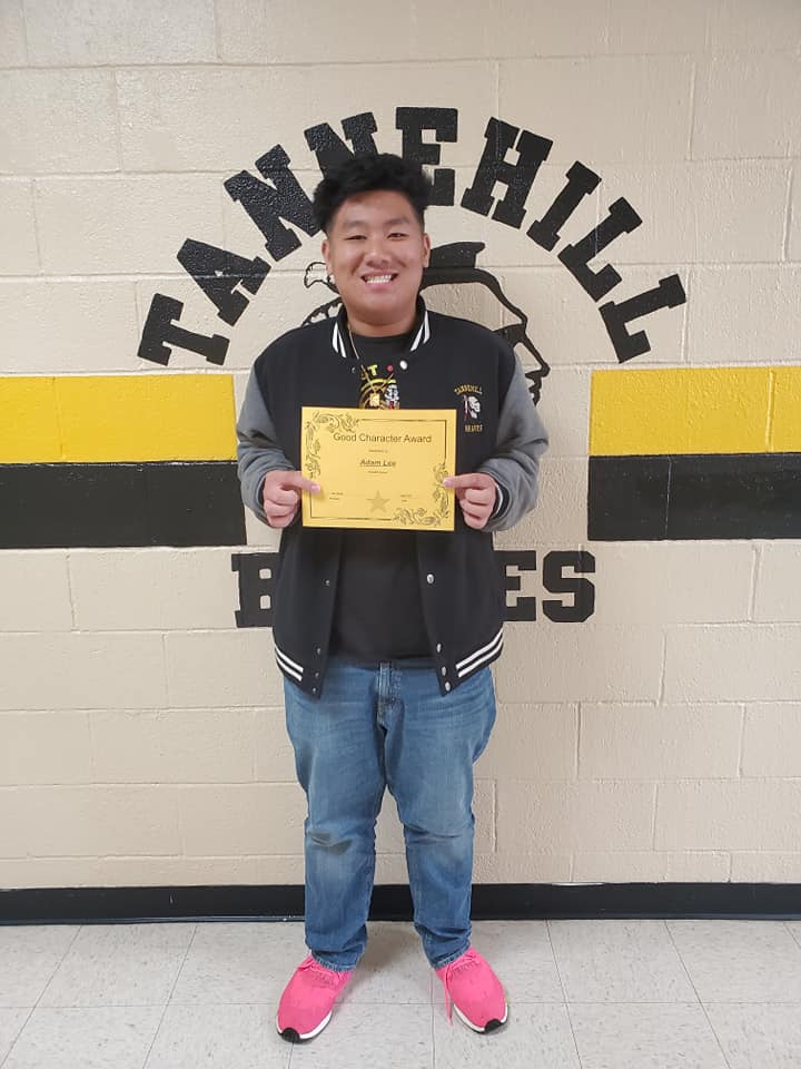 April Good Character of the Month: Adam Lee