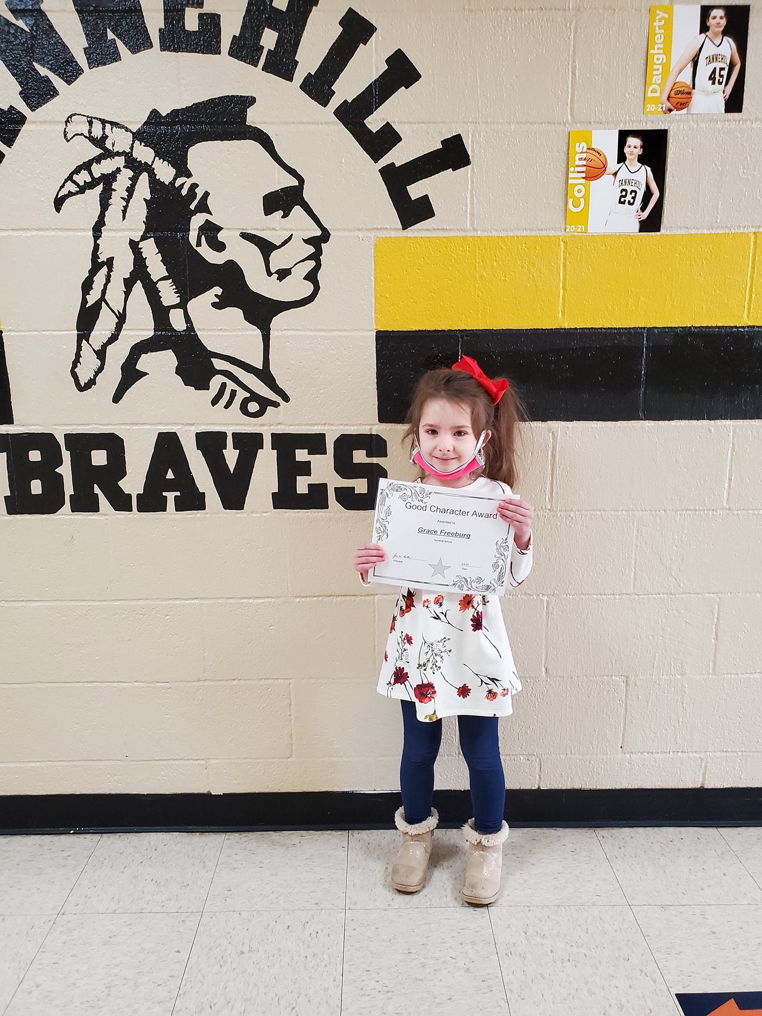 January Good Character of the Month: Grace Freeburg