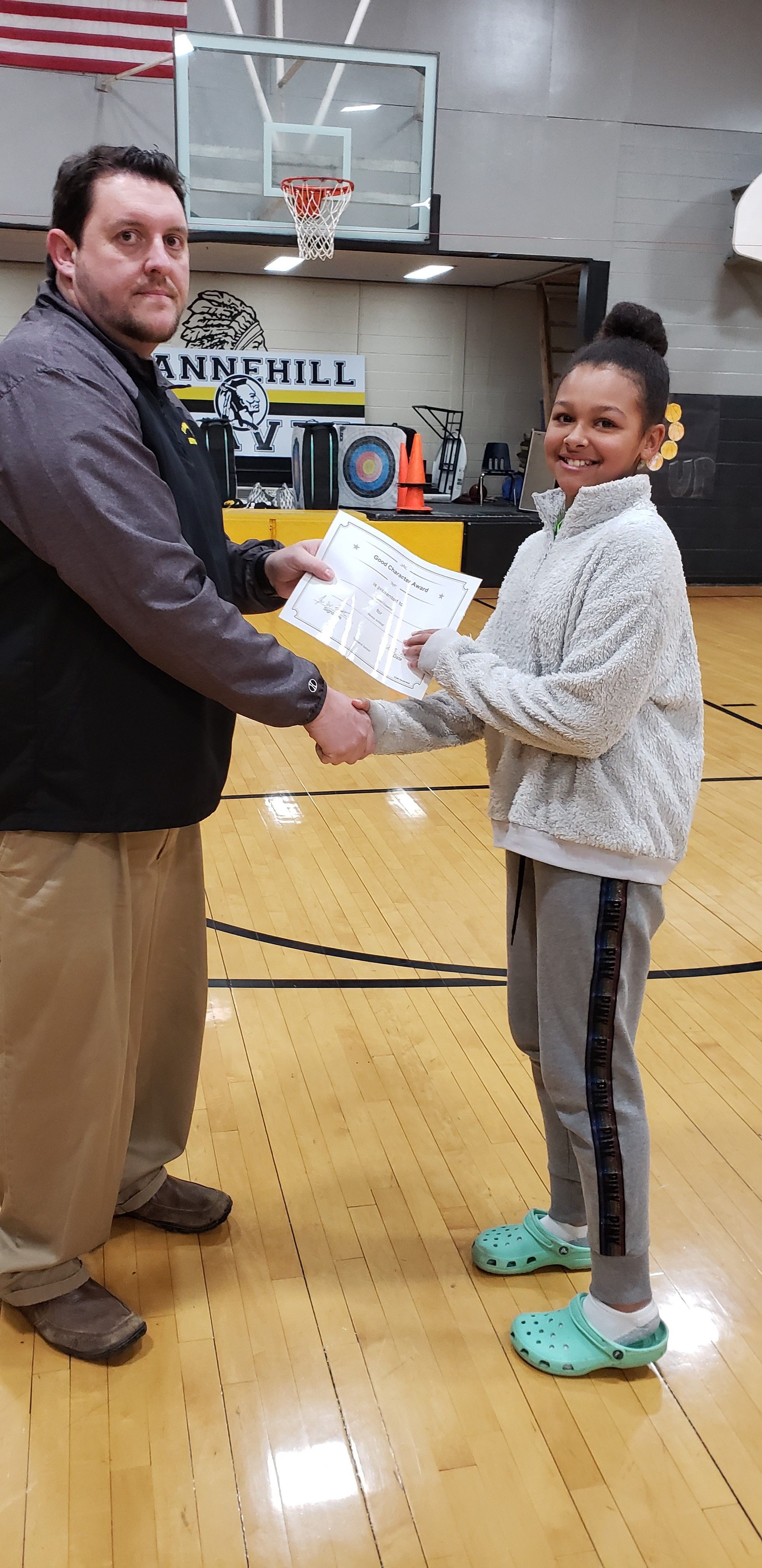 January Good Character of the Month: Cambri Epperson