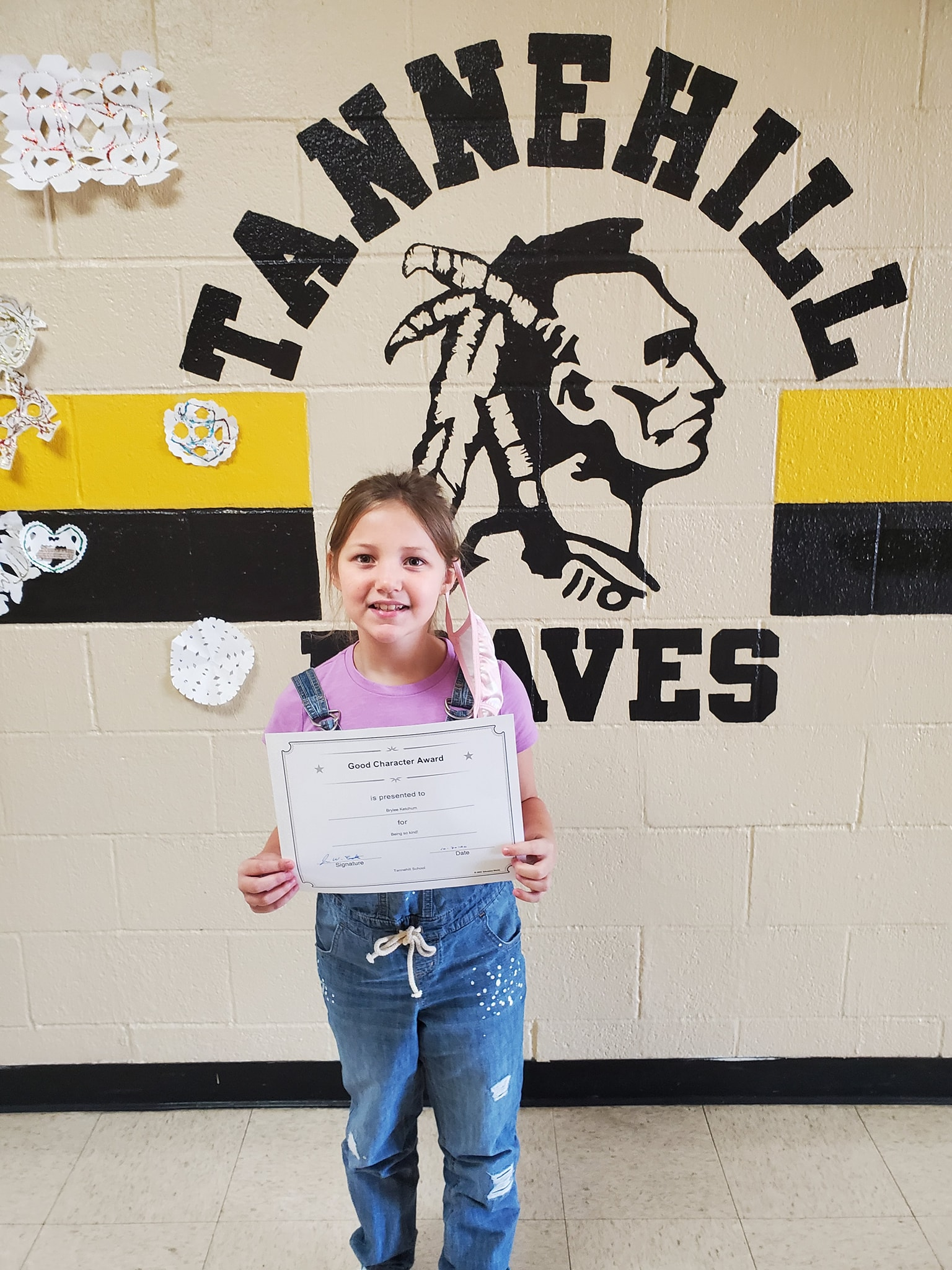 October Good Character of the Month: Brylee Ketchum