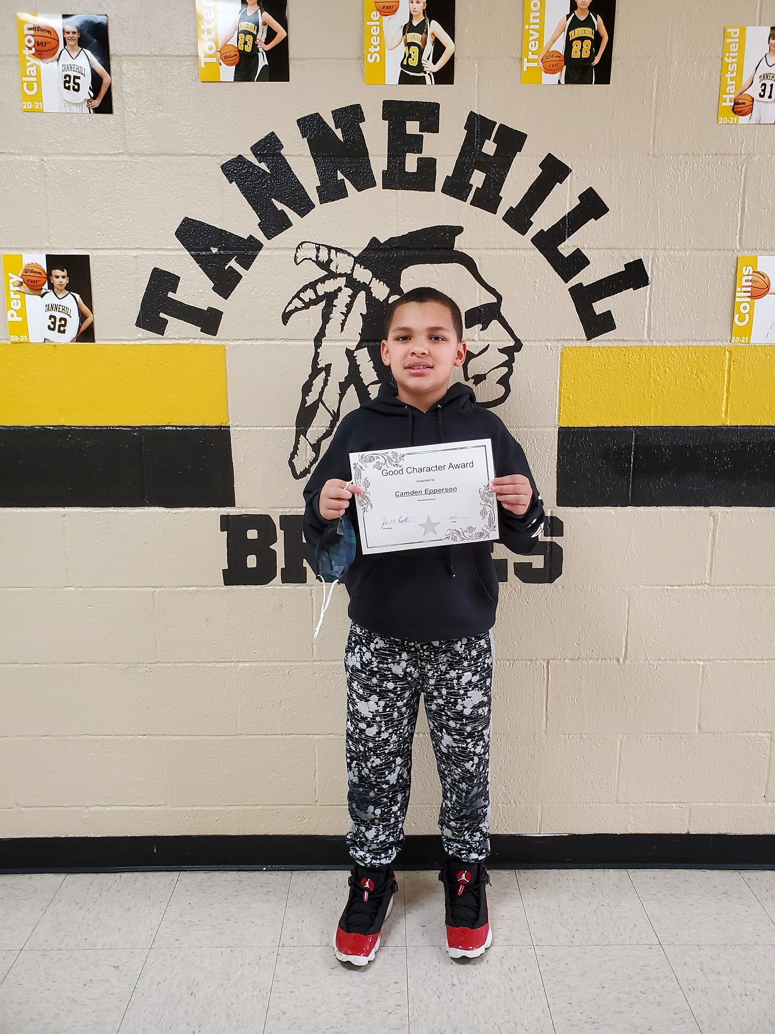January Good Character of the Month: Camden Epperson