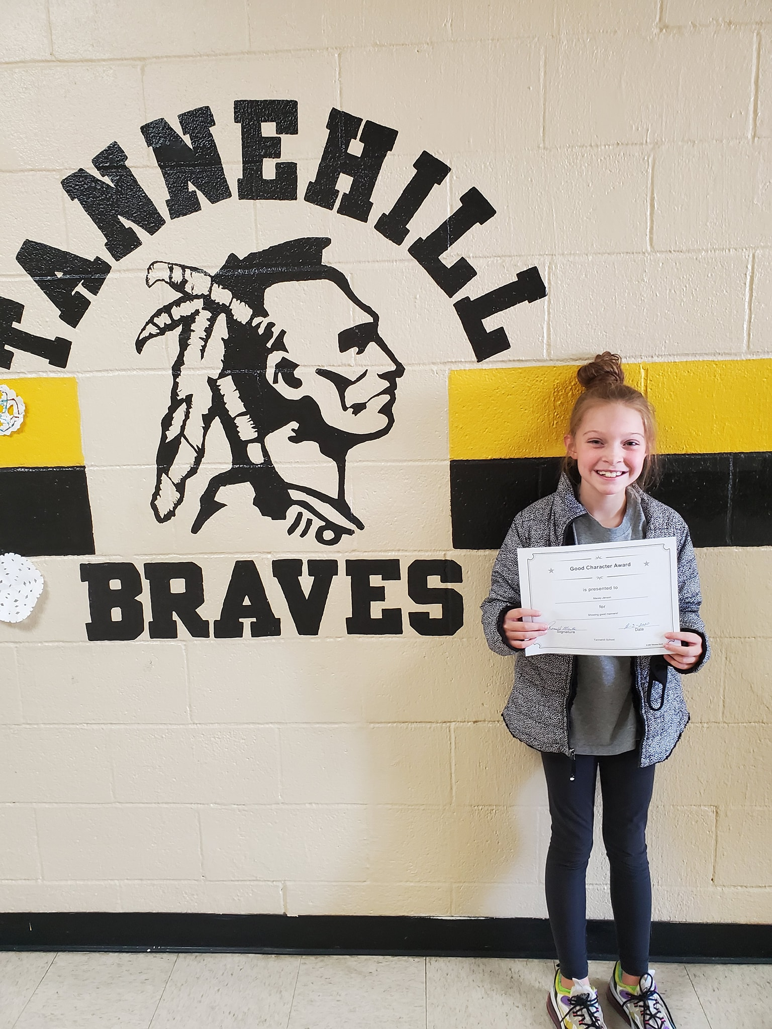 November Good Character of the Month: Macey Jensen